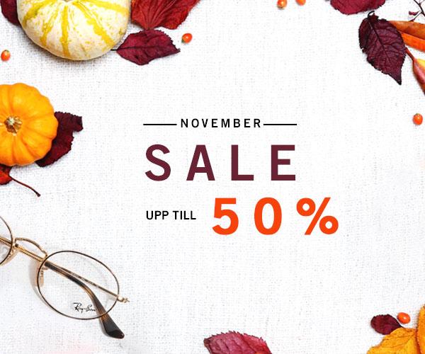 November sale - upp till 50%
